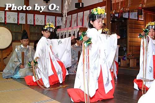 平成20年 函館市 豊川稲荷神社宵宮歳 浦安の舞