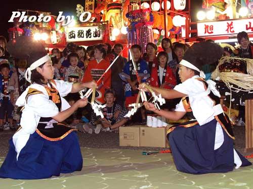 せたな町 事比羅神社 宵宮祭 松前神楽 神遊舞