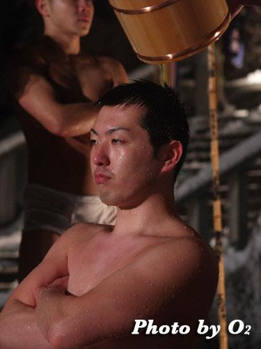 木古内町 佐女川神社 寒中みそぎ 行修者 稲荷