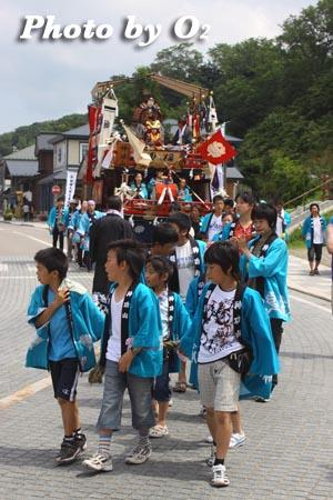 北海道,江差町,姥神大神宮渡御祭,山車,祭り,北海道遺産,下町巡幸,祭り人