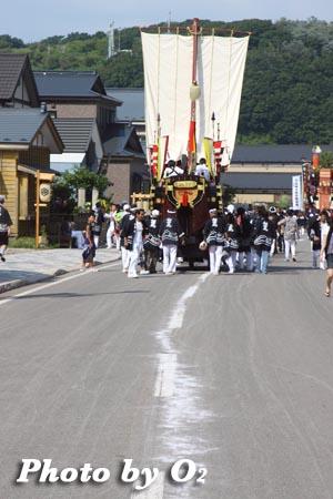 北海道,江差町,姥神大神宮渡御祭,山車,祭り,北海道遺産,下町巡幸
