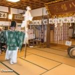 上ノ国八幡宮 初神楽祭 2016