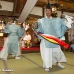 北海道 乙部八幡神社 神楽舞 天王遊舞