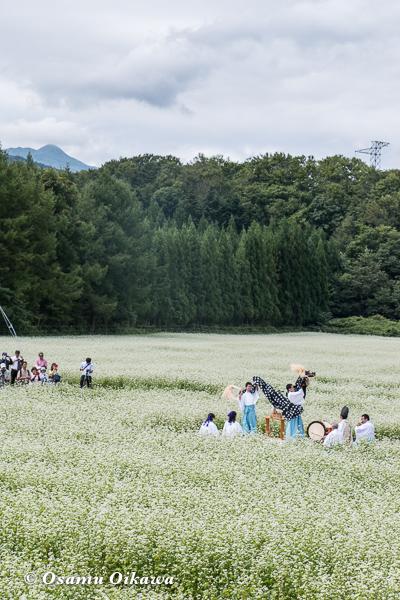 福島町 千軒地区 そばの花鑑賞会 松前神楽 十二の手獅子舞