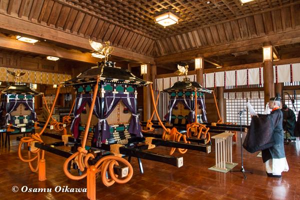 平成29年 北海道神宮例祭 渡御祭 渡御祭 鳳輦