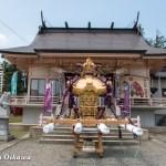 H29 寿都町 寿都神社 渡御祭 拝殿 神輿