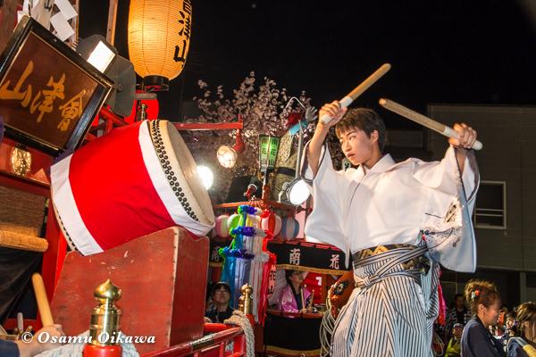 平成29年 せたな町 事比羅神社宵宮祭 太鼓合戦