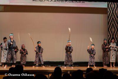 平成30年 平取町 第29回シシリムカアイヌ文化祭 子供の部 アイヌ古式舞踊