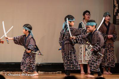 平成30年 平取町 第29回シシリムカアイヌ文化祭 子供の部 アイヌ古式舞踊3
