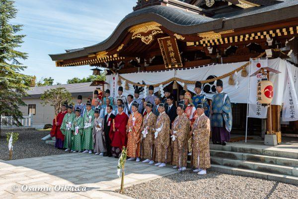 平成30年 美瑛町 美瑛神社渡御祭 写真撮影