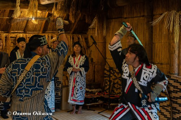 平成30年 平取町 チプサンケ アイヌ民族 アイヌ古式舞踊04