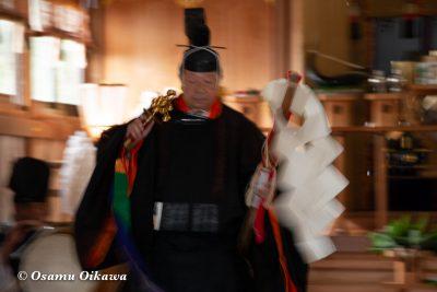 平成30年 函館市 戸井地区 宮川神社 本祭 松前神楽 榊舞