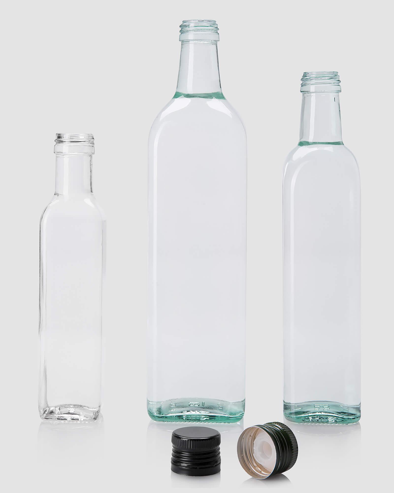 Фотосъемка стеклянных бутылок