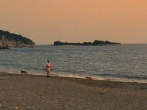 Isshiki beach by Hayama-cho/ 葉山の一色海岸