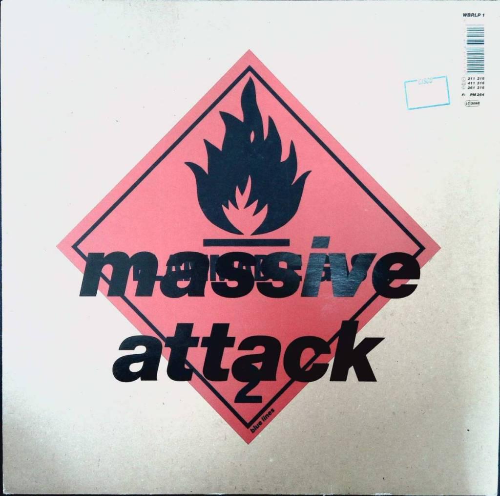 WBRLP1 Massive Attack Blue Lines マッシブアタック LP レコード