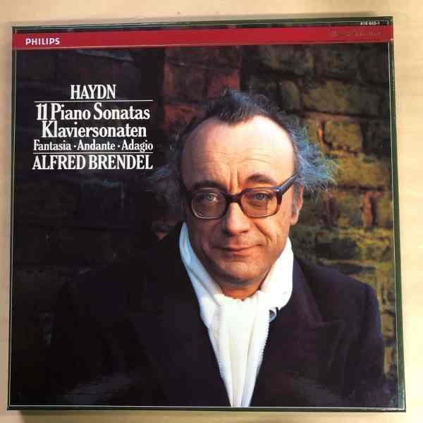 LP4枚組BOX HAYDN 11 Piano Sonatas ALFRED BRENDEL ハイドン