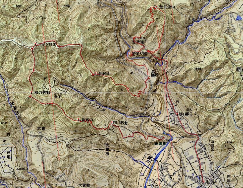 聖武連山の軌跡