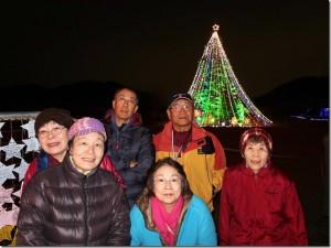4高さ30mのジャンボクリスマスツリー