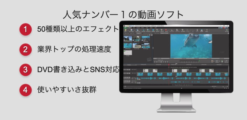 Video Pad 結婚式 余興ムービー編集ソフト 無料