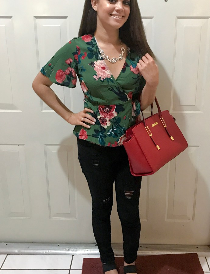 Floral Pop | Date Night Look | Birthday Outfit #2