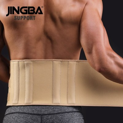 JINGBA-SUPPORT-fitness-belt-Back-waist-support-Slim-sweat-belt-waist-trainer-waist-trimmer-musculation-abdominale