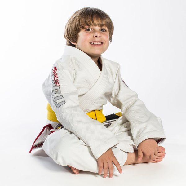 Youth gi Samurai seated