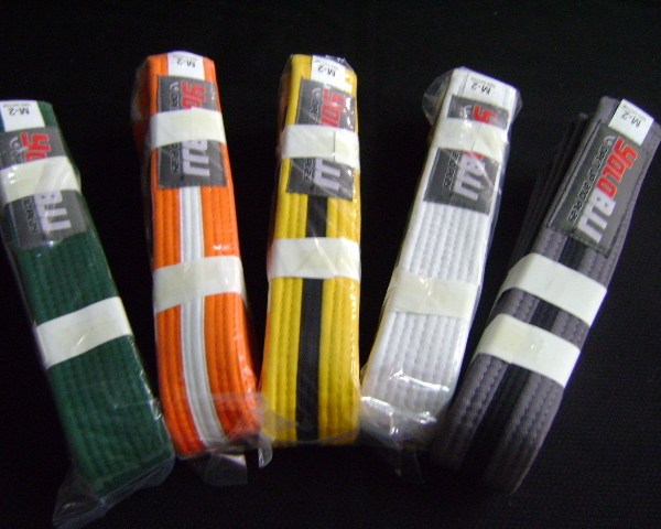 Brazilian Jiu-Jitsu belts -Youth