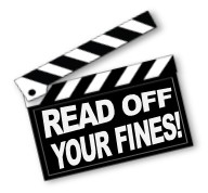 Read Off Your Fines.