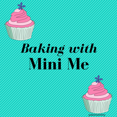 Baking with Mini Me