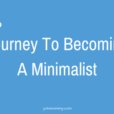 Journey To Becoming A Minimalist