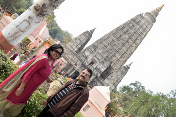 Mom and Dad in bodh gaya