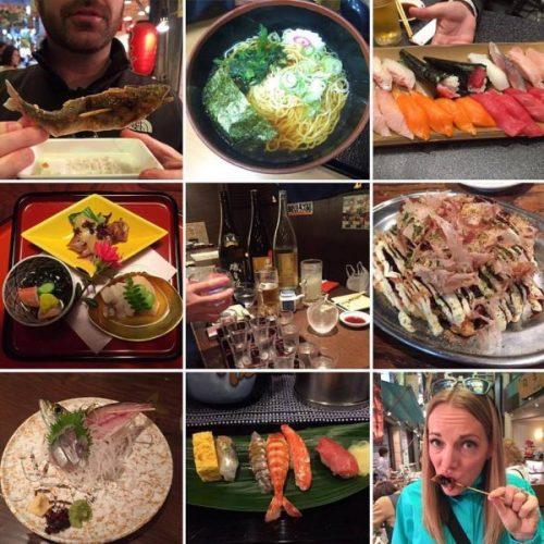 Foodies Unite in Japan