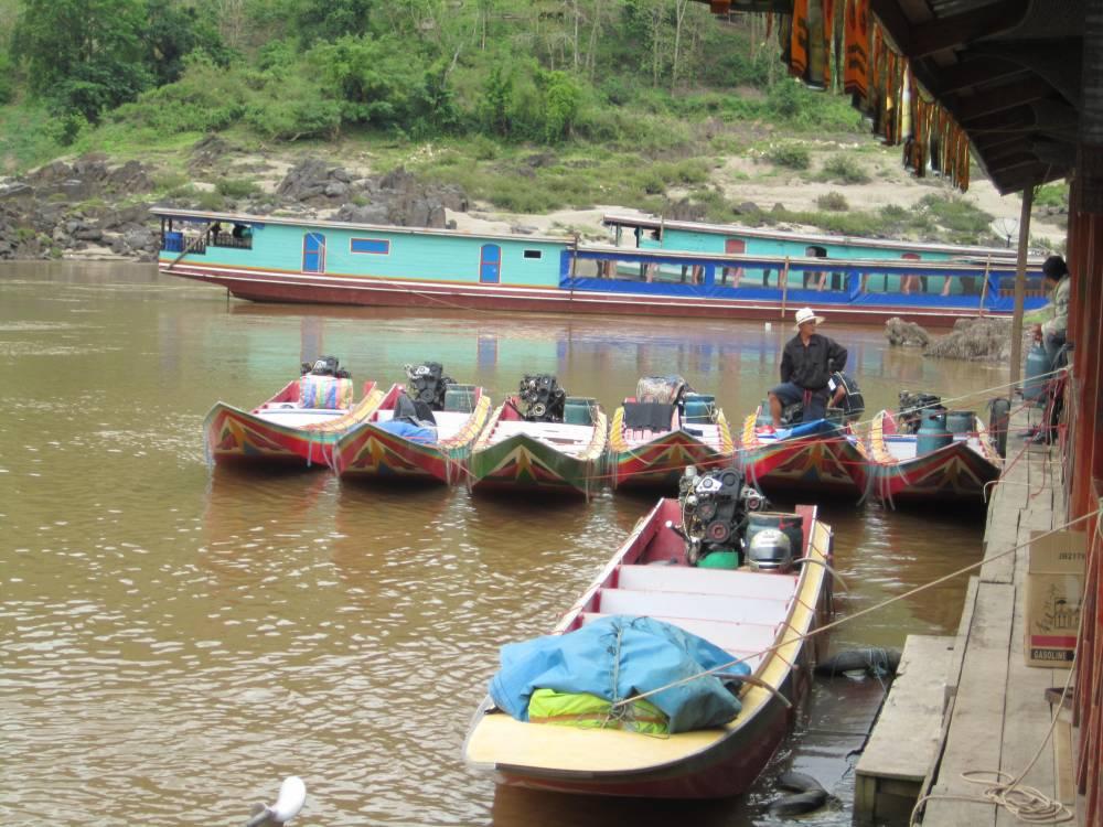 boat to Luang Prabang