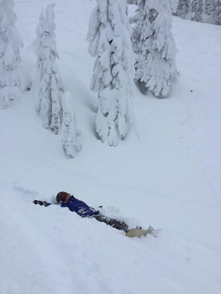 powder day, champagne powder, big white ski resort