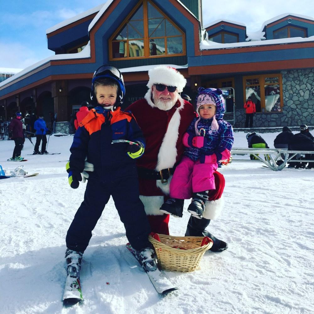 kids skiing, big white ski resort