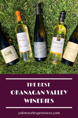 BC Canada vineyards