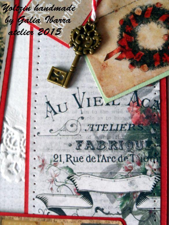 Yoltzin handmade - Scrapberry's christmas card challenge