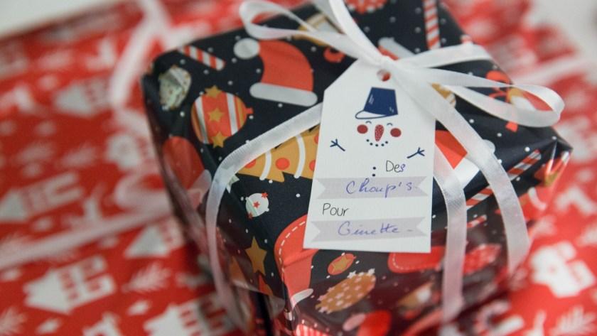 Etiquettes cadeaux de Noël   DIY