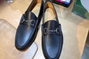 レザーソールのいい靴を買ったのでハーフラバーとチュールを貼ってみた!