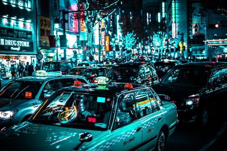 東京都内のタクシー