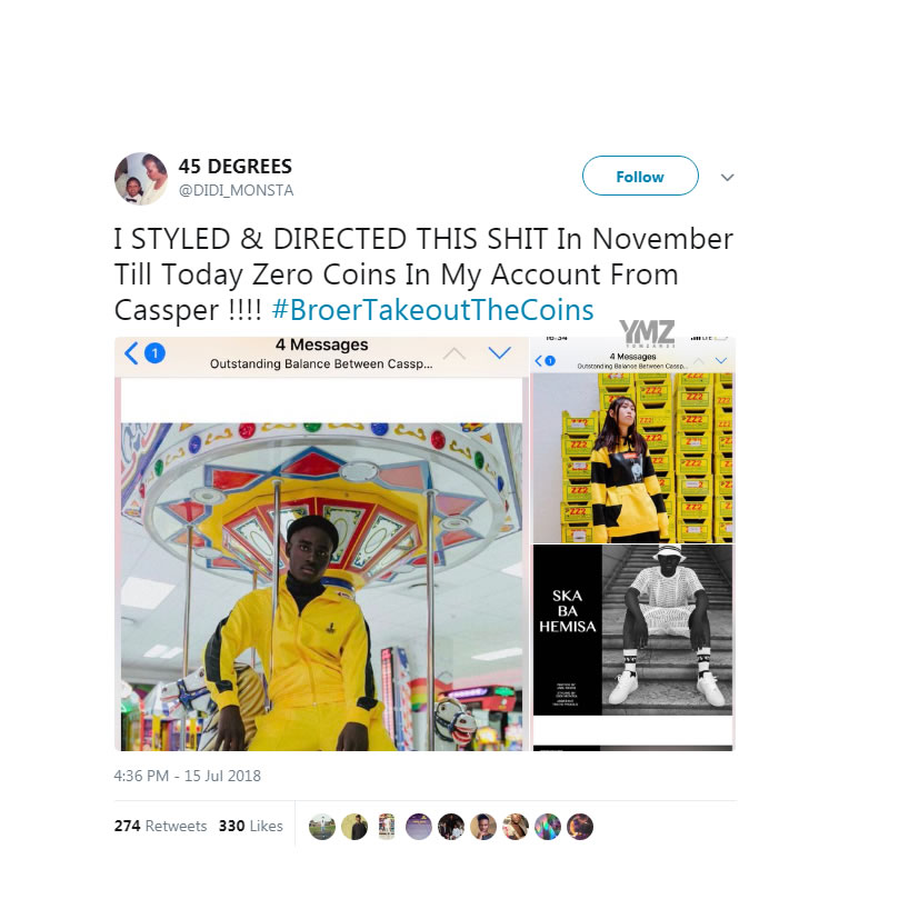 Didi Monsta Reveals That Cassper Nyovest Owes Him R60 000 For Services cassper nyovest didi simelane yomzansi 12