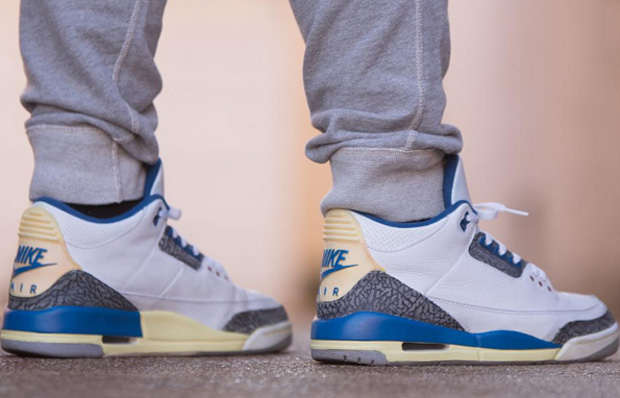 """7c8fd27358d1 Last released 5 years back (2011) – is the Air Jordan 3 """"True Blue"""""""