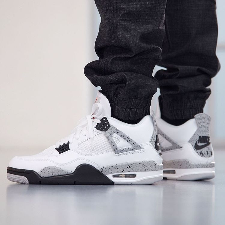 "b6341f2b Take a moment and checkout the detailed images of the Nike Air Jordan 4 OG ' 89 ""White Cement"" and drop your comments below in the comment section."