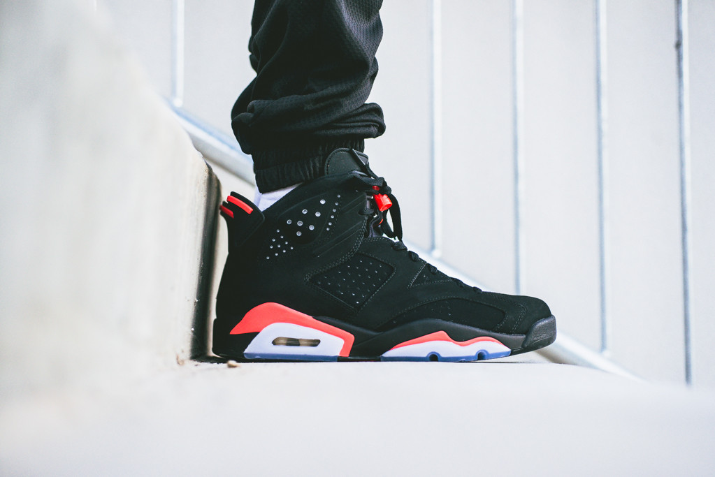7eb16d248c8e ... inexpensive todays restock is the air jordan 6 black infrared which is  now available on jacklemkus