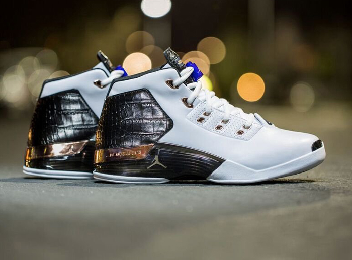 "sports shoes 18793 05f49 On-feet images of the Air Jordan 17+ ""Copper"""