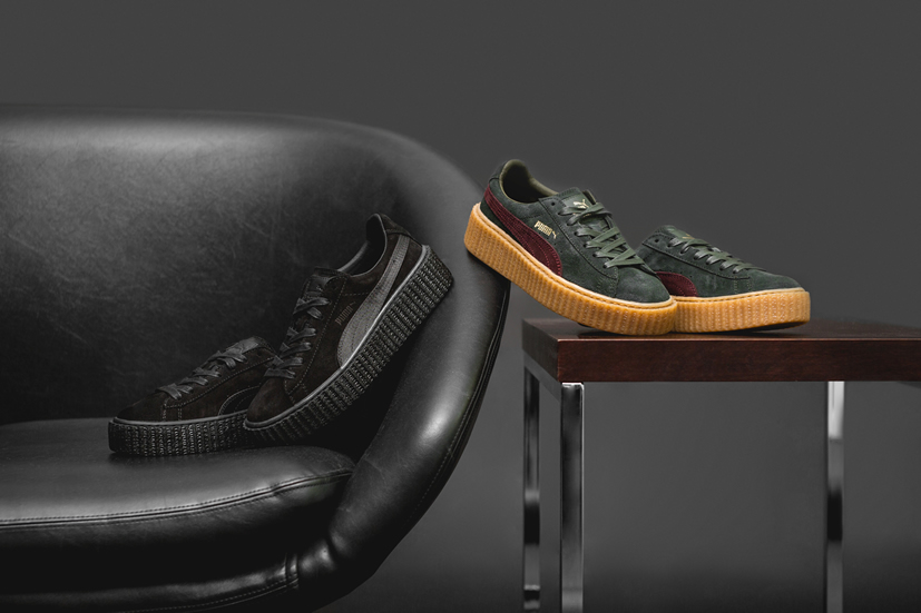 """best service e89ad 1a3f6 ... One of most-anticipated Rihanna s first signature Sneaker with PUMA  """"Creeper"""" will be ..."""