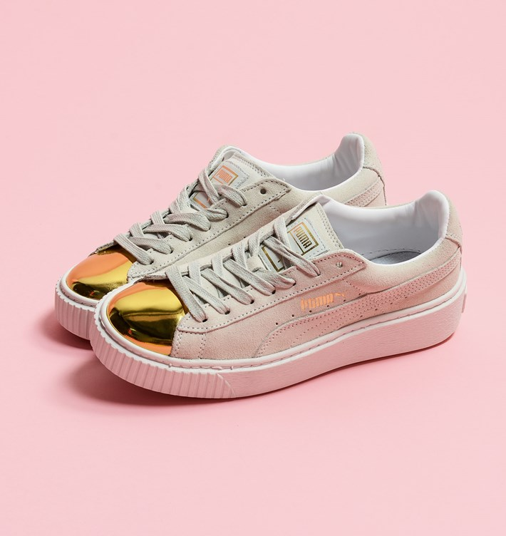 e1a44eb98db Get ready for this PUMA Suede and Basket classics