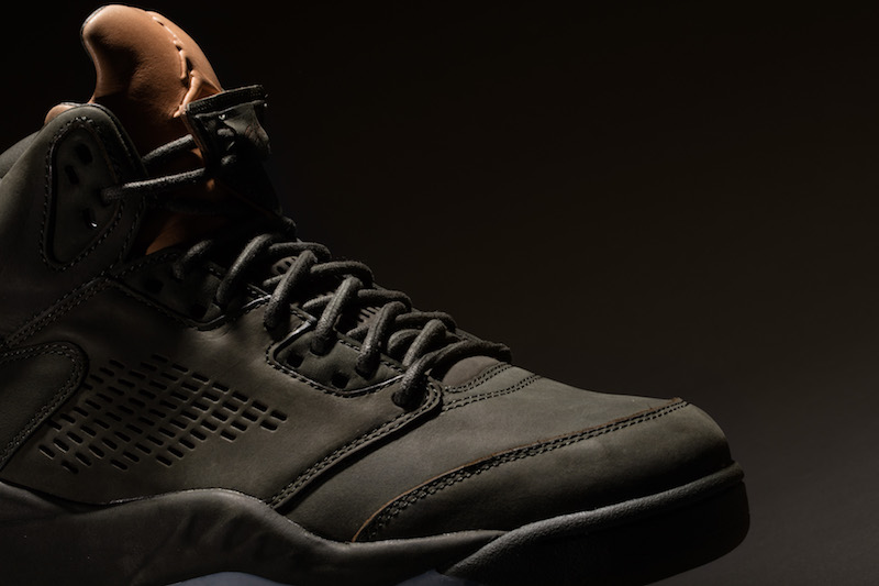 856dbba969b This Air Jordan 5 takes design cues from a P51 flight bomber jacket.  Features a premium suede/nubuck upper covered in dark olive green, while  tan leather ...