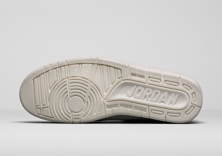 """42c112d2244 Air Jordan 2 Decon """"Sail"""". The shoe' is dressed in Sail-Bio Beige suede for  a lighter and luxurious look and feel, other details include tan insoles,  ..."""