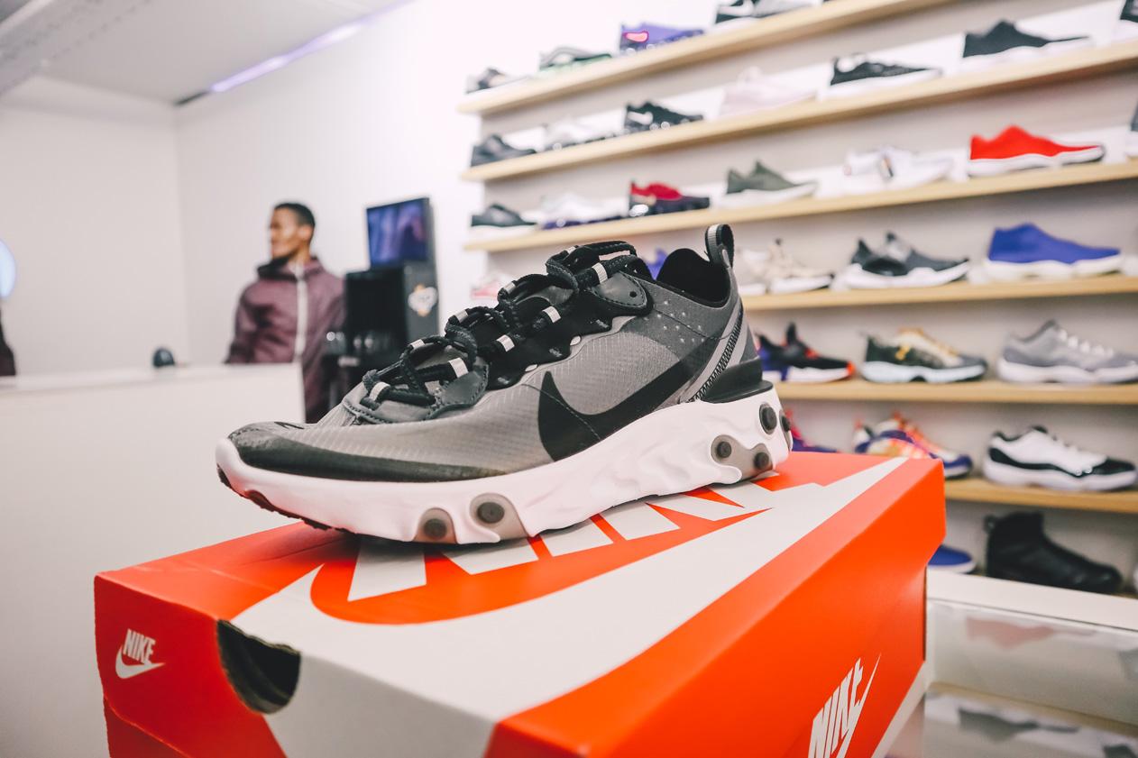 487f25566775 RELEASE REWIND  Nike React Element 87 Pack at Shelflife (Rosebank ...